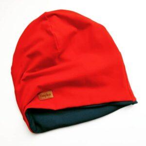 Baggy kapa rdeče modra Hopka