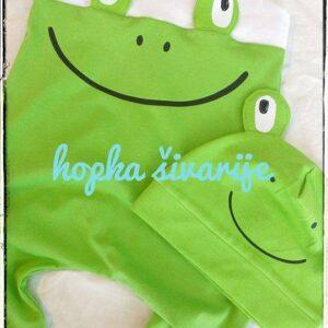Otroški pajac žaba Hopka