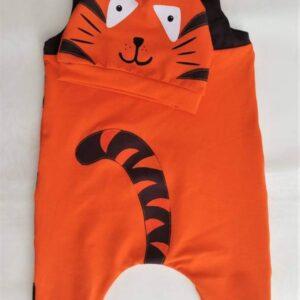 Otroški pajacek tiger, hrbtni del, Hopka