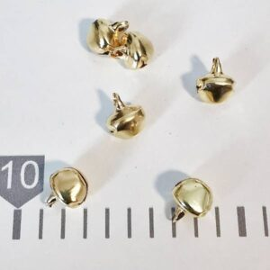 Kraguljčki zlati 10mm Hopka