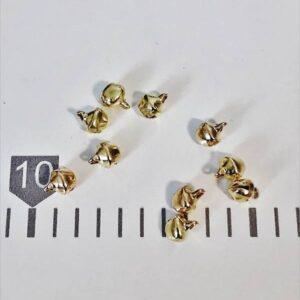 Kraguljčki zlati 6mm Hopka