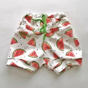Kratke hlače lubenice na beli Hopka
