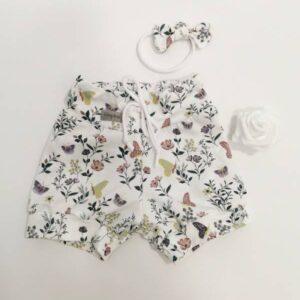 Kratke hlače bela pomlad Hopka