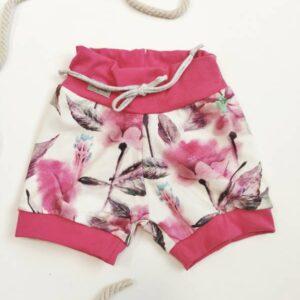 Kratke hlače cvetlični akvarel Hopka