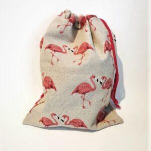 Vrečka za copate Flamingo Hopka