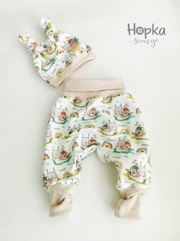 Komplet dojenček Hopka